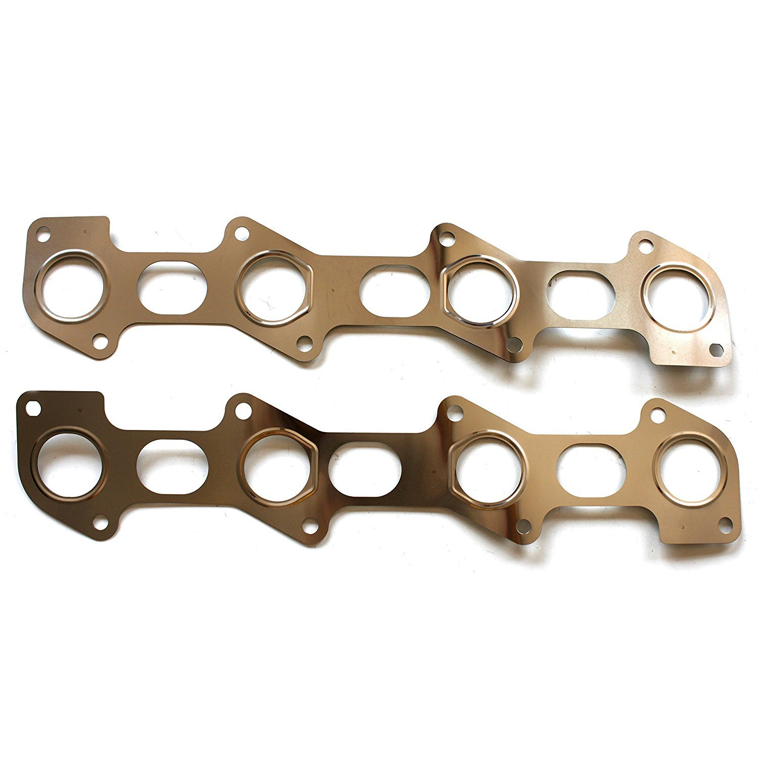 Scitoo Exhaust Manifold Gasket Kit 2003-2010 Ford E-350/E-450 Ford F-250/F-350 Excursion 6.0L 6.4L Engine Exhaust Manifold Gaskets Automotive Replacement Gasket Sets 058587-5206-1546564801