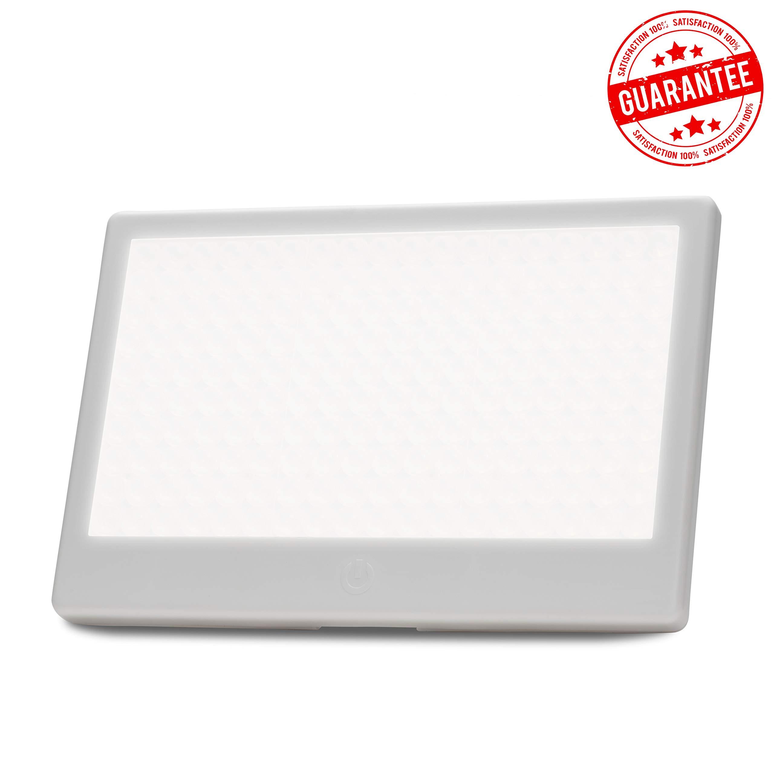 Aurora Lightpad - SAD Light Therapy Box - Brightest 10,000 LUX Seasonal Depression Lamp