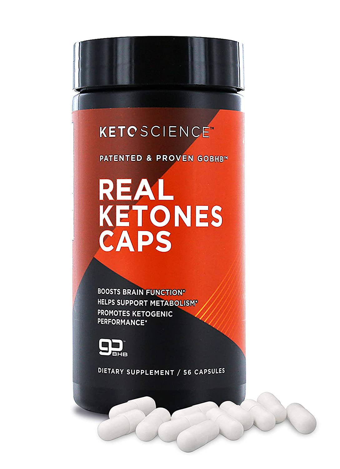 Keto Science Real Ketones Caps Dietary Supplement Supports