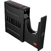 Vaultek Slider Series Rugged Smart Handgun Safe Quick Auto-Open Sliding Door Pistol Safe with Rechargeable Li-ion…