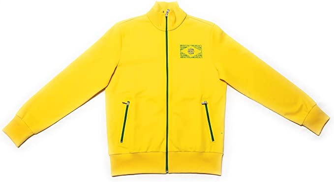 Hugo Boss Mens Skaz Flag Brazil 50260418 730 Yellow Size Large