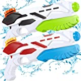 Squirt Water Guns for Boys & Girls - 500CC Super Water Guns for Kids Adults-Swimming Pool Toys Water Fighting with Powerful S