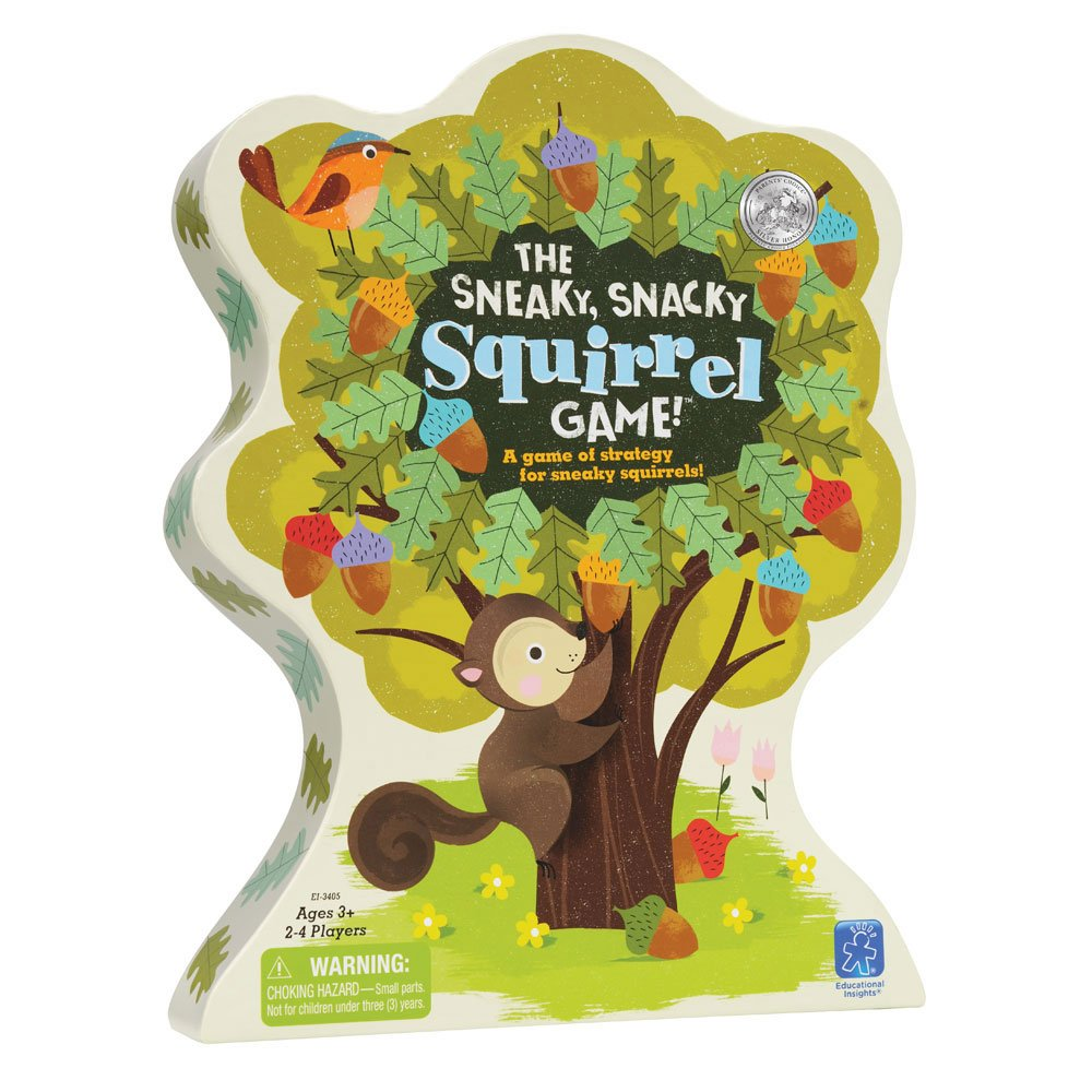Snacky Squirrel Game 3405-AMZ Educational Insights The Sneaky