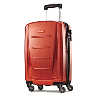 Samsonite Winfield 2 Fashion 20  Carry On Spinner Luggage in Orange