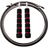 JR Skipping Ropes,Speed Jump Rope Adjustable for Cross Training Fitness and Cardio,Suitable for Men and Women