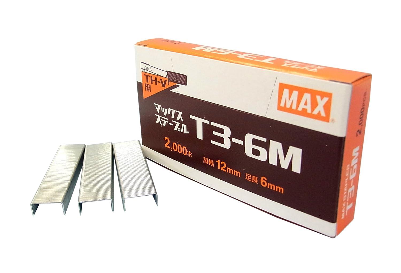 MAX ステープル T3-6M