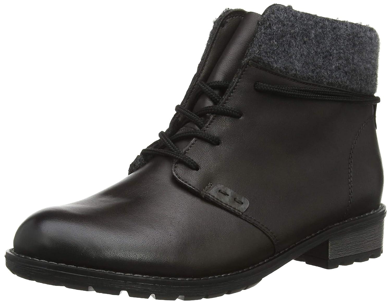 Grau (Graphit Fumo 45) Remonte Damen R3332 Combat Stiefel