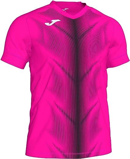 KiarenzaFD Joma Camiseta M/C Olimpia 101370 Rosa Fluo-Negro ...