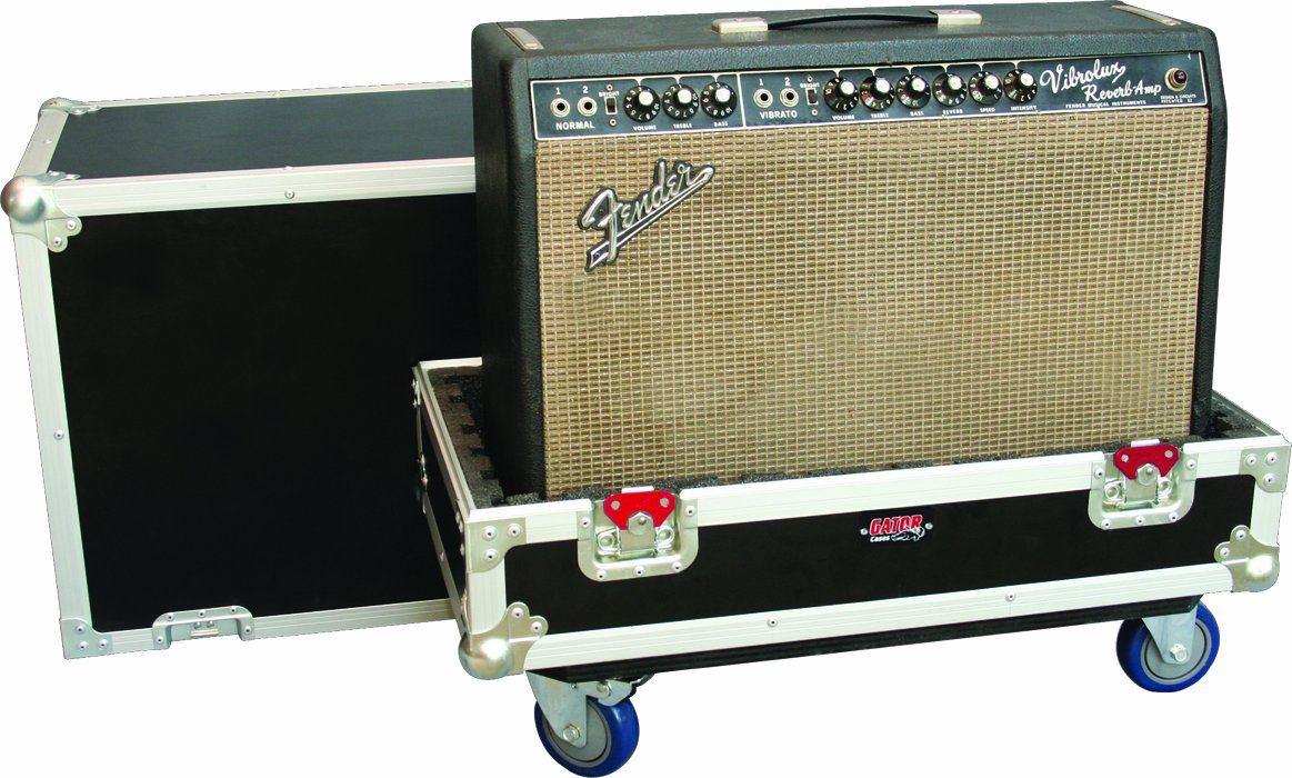 Gator Cases G-TOUR Series ATA Style Road Case fit for 1x12 Electric Guitar Amplifiers ; (G-TOUR AMP112)