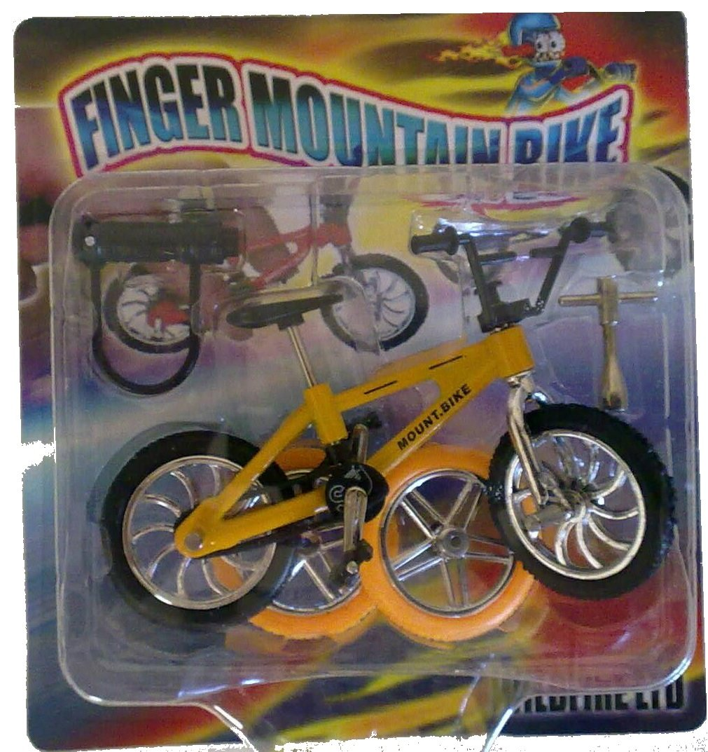 Finger Stunt Trick Bike - Assorted Colours [Toy] TOYLAND