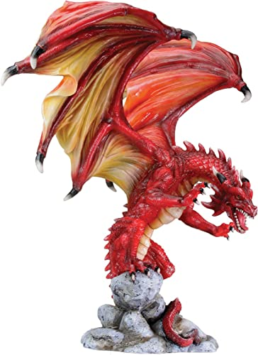 Dragon Attacking Figurine Display