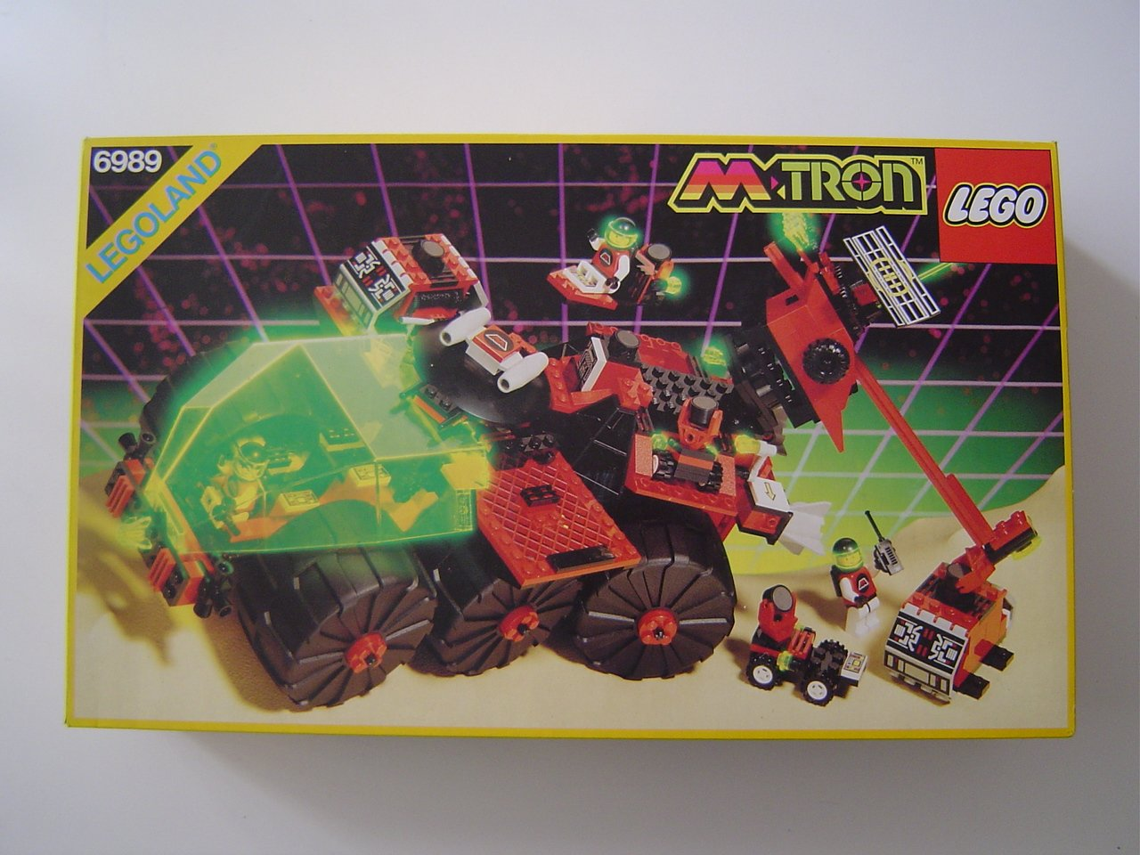 LEGO LEGO LEGO System M:Tron 6989 Mobiles Rescue-Center 270c7b