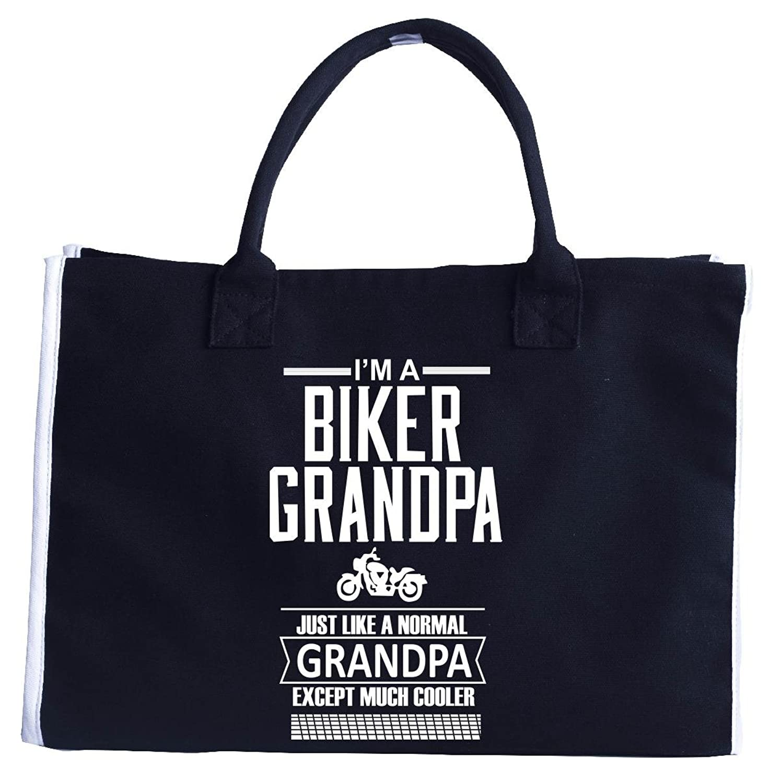 I M A Biker Grandpa Just Like A Normal Grandpa Rider T Shirt - Tote Bag