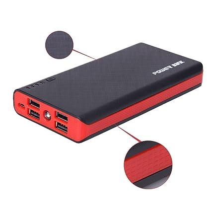 Amazon.com: 4 USB 500000 mAh Banco de la energía LED ...