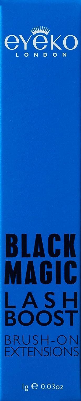 a039d140217 Amazon.com: Eyeko Magic Lash Boost, Black, 1 g.: Luxury Beauty