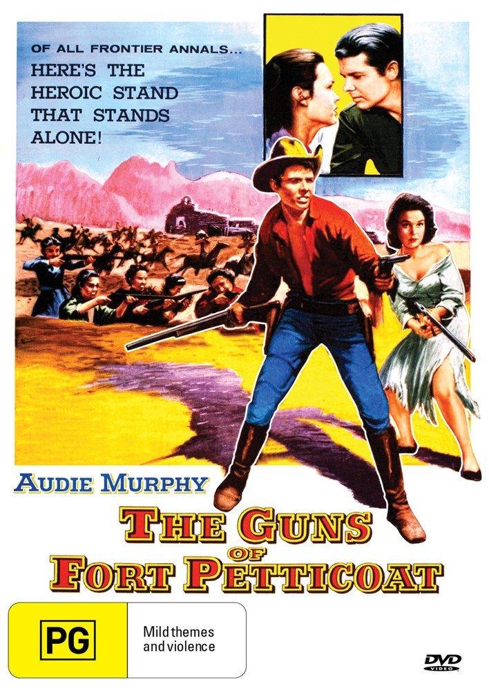 DVD : Guns Of Fort Petticoat (Australia - Import, NTSC Region 0)