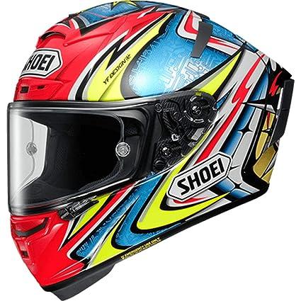 a606551cc38 Amazon.com: Shoei X-14 Daijiro Street Motorcycle Helmet - TC-1 / Large:  Automotive