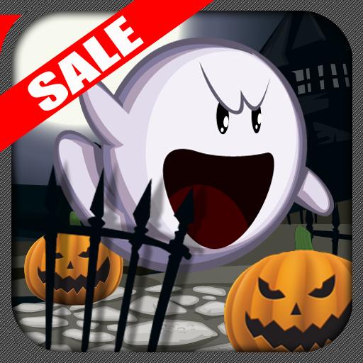 Halloween Ghost Kaboom Kids App Tilt Game (Kindle Tablet -