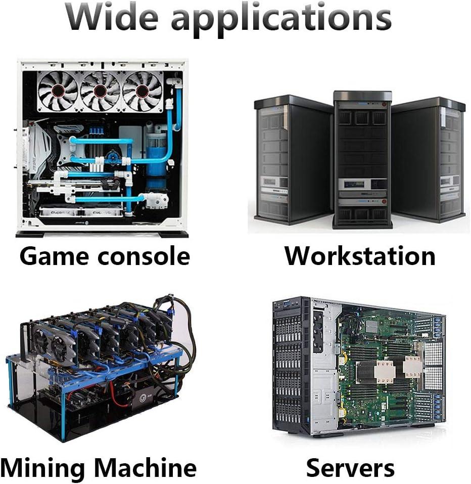 Speed Controller 3V to 12V for Mining Machine Cabinet Chassis Server Workstation Cooling Wathai Big Airflow 120mm Fan 110V 240V AC Power Supply