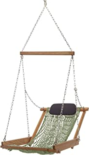 product image for Nags Head Hammocks Cumaru Hanging Hammock Chair, Meadow DuraCord