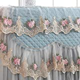 BBT-shop Washer/Dryer Cover - Lace Ruffle Floral