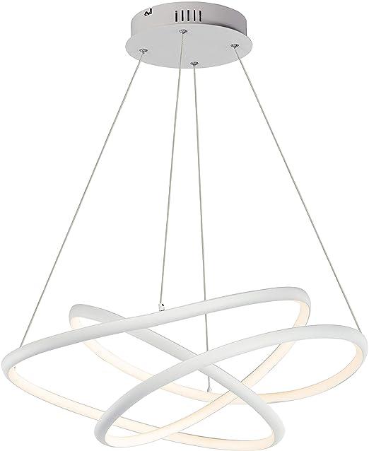 Et2 Lighting E30645 Mw Twisted Pendant Light Matte White