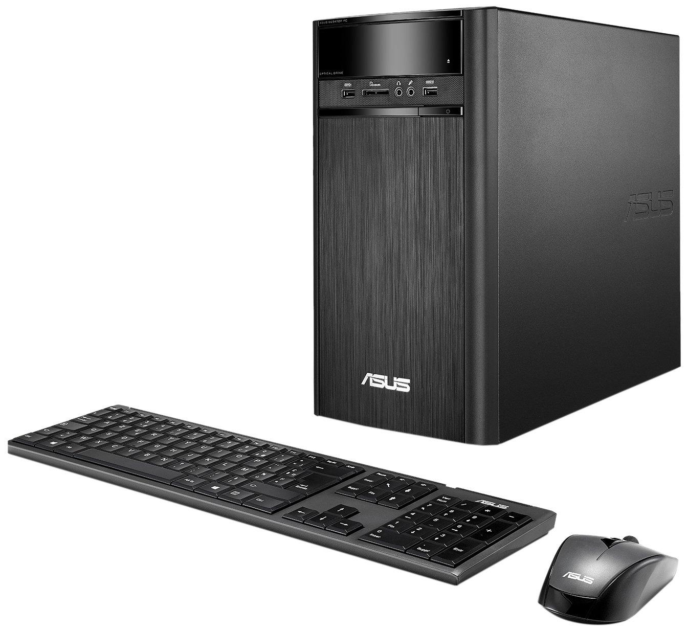 ASUS K31CD-DS71 VivoPC Desktop, Intel Core i7 3.6GHz Processor, 16GB DDR4, 2TB 7200RPM HDD, Windows 10 Home
