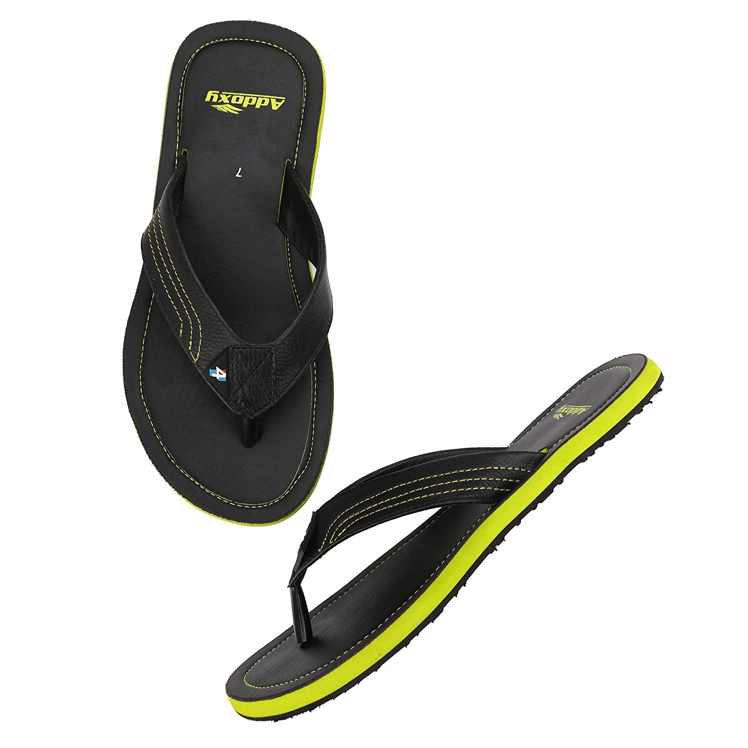 da0a544fd57 ADDOXY Men s Adventure Flip Awesome Flip-Flops and House Slippers  Buy  Online at Low Prices in India - Amazon.in