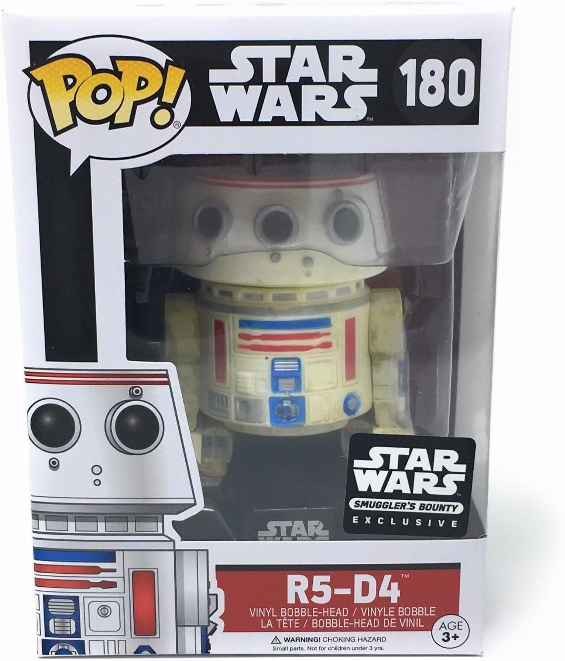 R5-D4 Funko POP! Vinyl Bobble Head Figurine 180 Star Wars Exclusive (In Original Box)