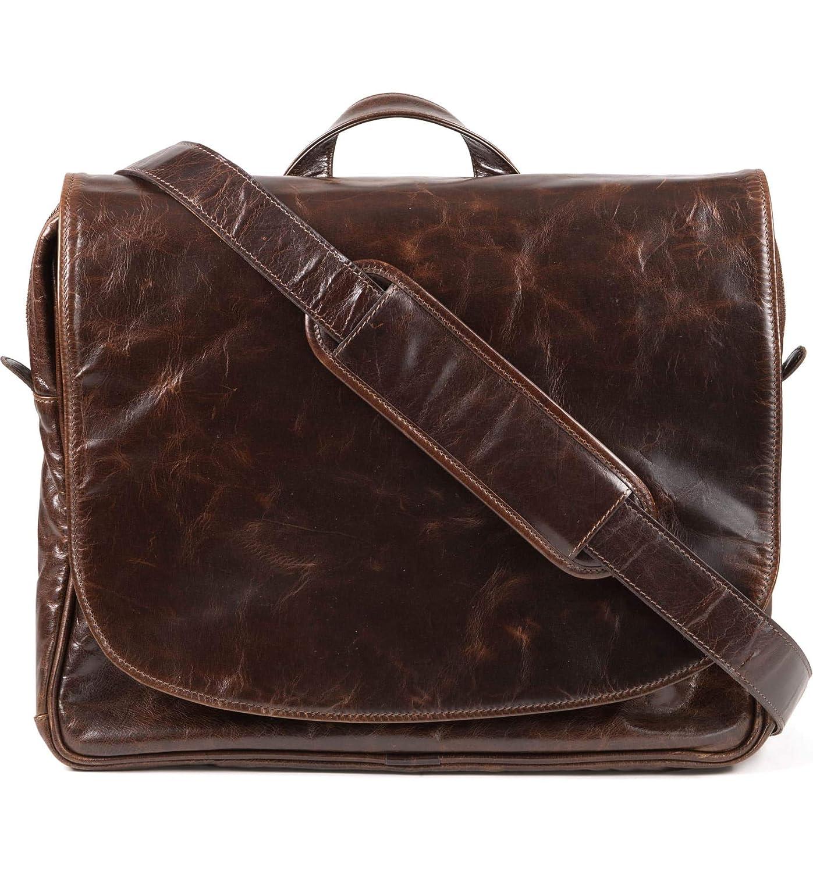 [ムーアアンドシャイルズ] メンズ ショルダーバッグ Moore & Giles Wynn Leather Messenger Bag [並行輸入品] B07DTG1ZVF  One-Size
