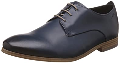 ClarksChinley Walk - Derby Hombre, Color Marrón, Talla 41 EU