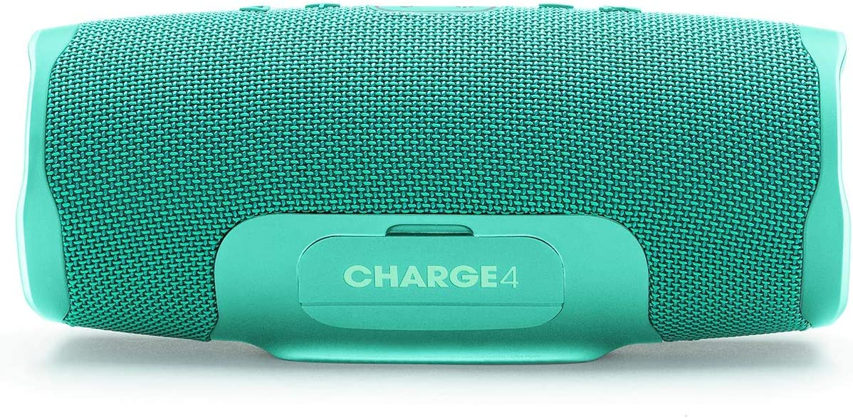 JBL Charge 4 Waterproof Wireless Bluetooth Speaker Bundle with Portable Hard Case Red