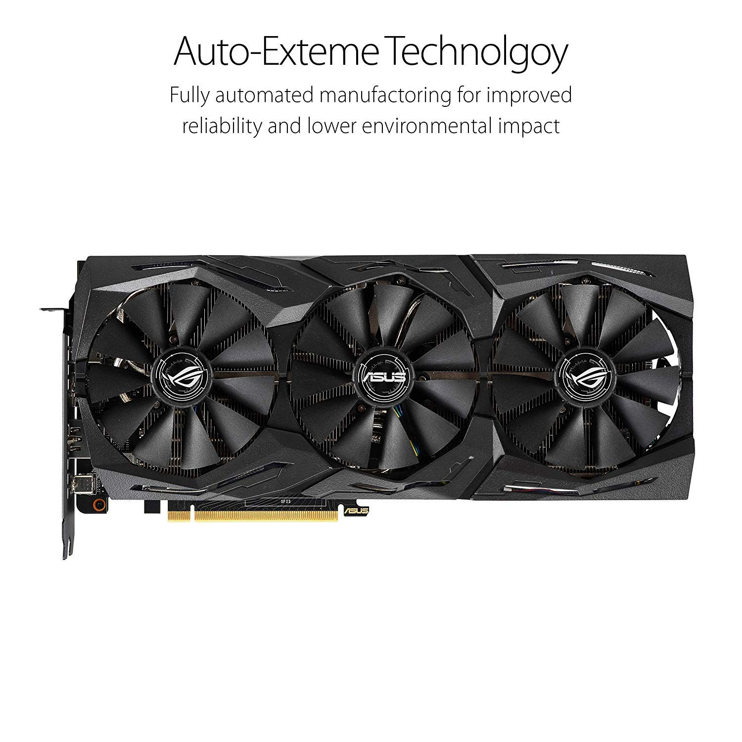 ASUS ROG Strix GeForce RTX 2070 Overclocked 8G GDDR6 VR Ready HDMI DP 1.4 USB Type-C Graphics Gaming Card (ROG-STRIX-RTX-2070-O8G) by ASUS (Image #2)