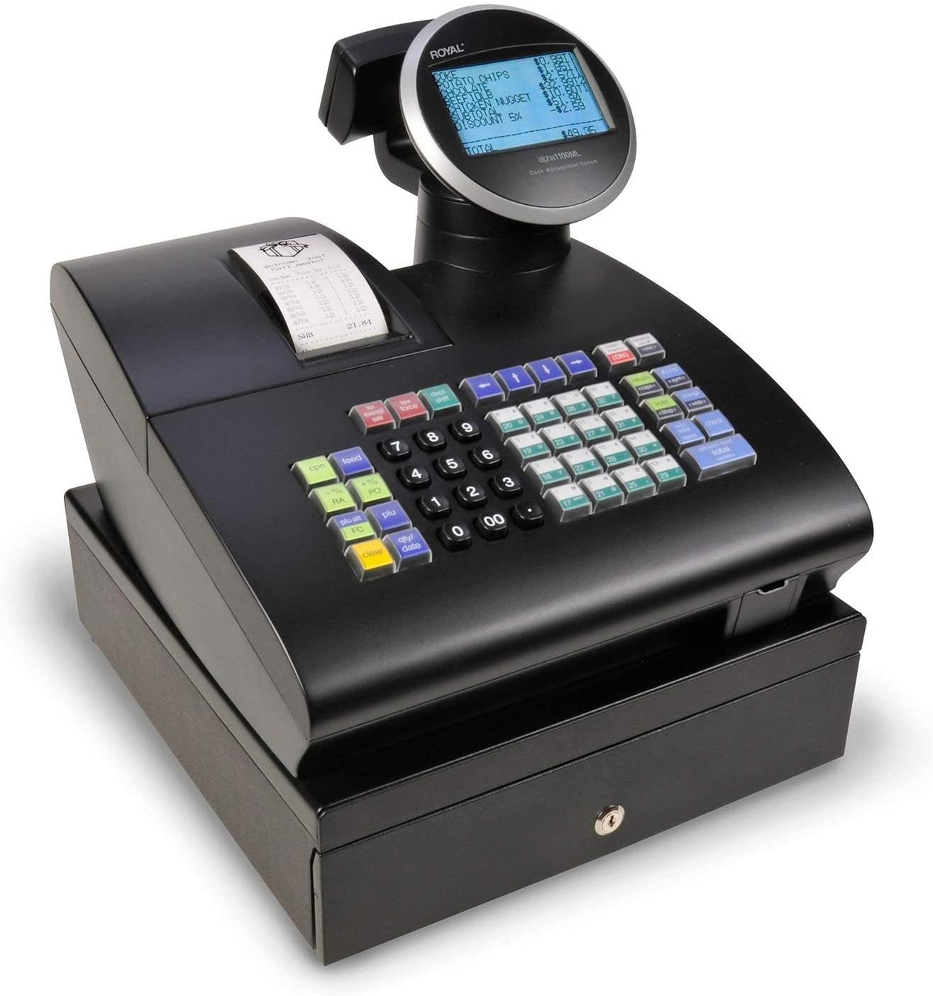 ROYAL Consumer 39285K Alpha 1100ML Cash Register