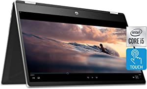 HP Pavilion x360 Convertible 15.6-inch Touchscreen Laptop, 11th Gen Intel Core i5-1135G7, Intel Iris Xe Graphics, 8 GB RAM, 512 GB SSD, HD Micro-Edge Display, Windows 10 Home (15-dq2020nr, 2020)