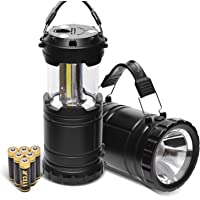 2-Pack Pacearth Camping Lantern Lights