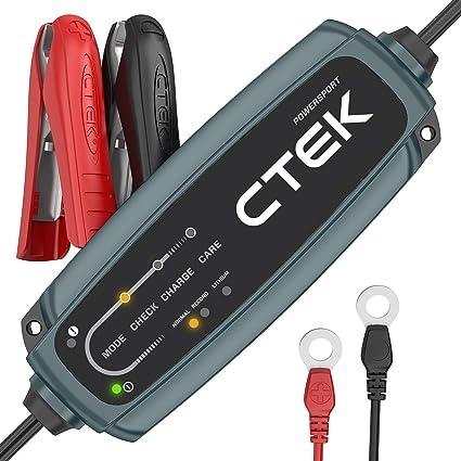 CTEK EU CT5 Powersport Cargador para baterías de Motocicleta ...