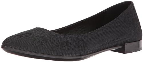 Ecco Shape Pointy Ballerina, Mocasines para Mujer, Negro (Black), 40 EU: Amazon.es: Zapatos y complementos