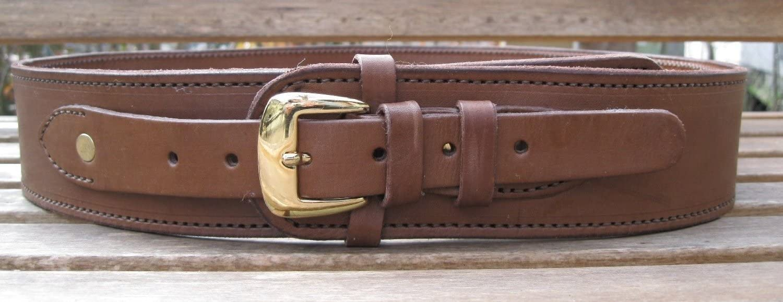 "46 Leather 44//45 cal Cartridge Gun Belt 2 1//2/"" W. 49/"" Hip* Size Brown 44/"""