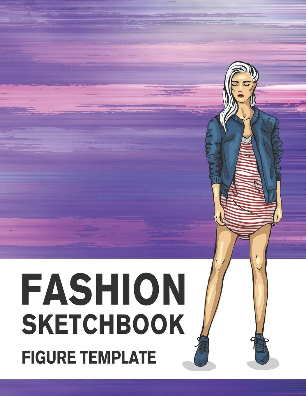 Fashion Sketchbook Figure Template 430 Large Female Figure Template For Easily Sketching Your Fashion Design Styles And Building Your Portfolio Derrick Lance 9781700453525 Amazon Com Books