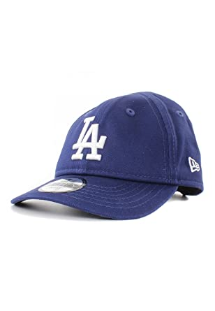 new concept 8b012 dbc6e Amazon.com  New Era MLB Los Angeles Dodgers Jr Essential 9Forty Elasticback  Cap Royal Infant Seaugling  Clothing