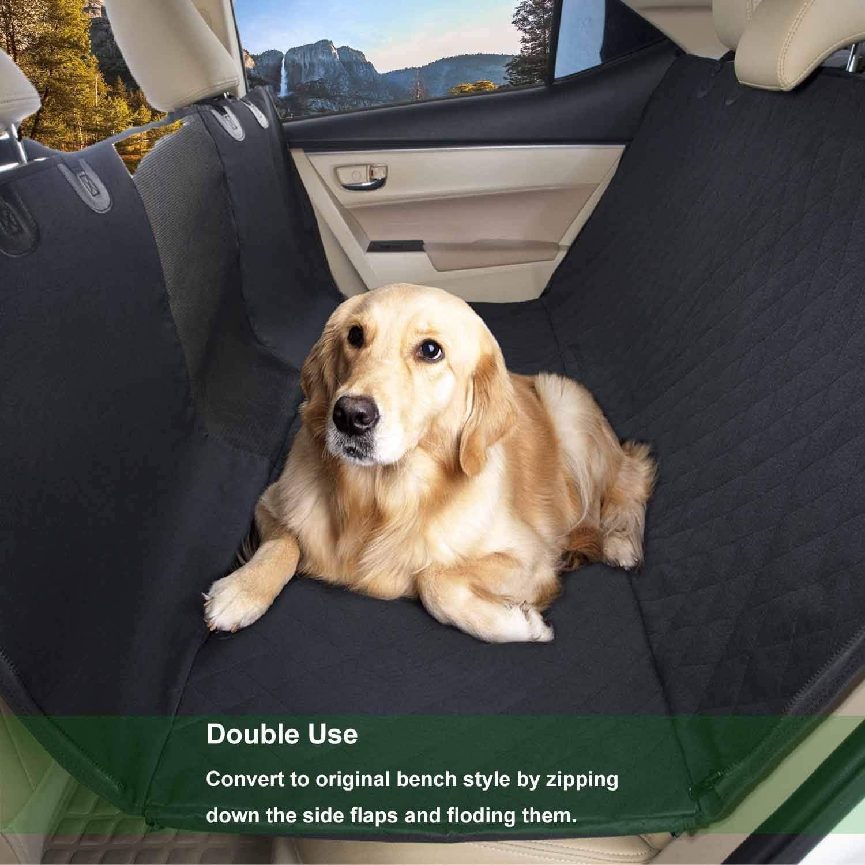 UPSKY funda para asiento de coche para perro con ventana de malla ...