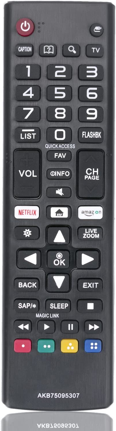 New Remote Control AKB75095307 Replacement fit for LG LED LCD TV 43UJ6500 43UJ6560 49UJ6500 49UJ6560 55UJ6520 55UJ6540 55UJ6580 60UJ6540: Home Audio & Theater