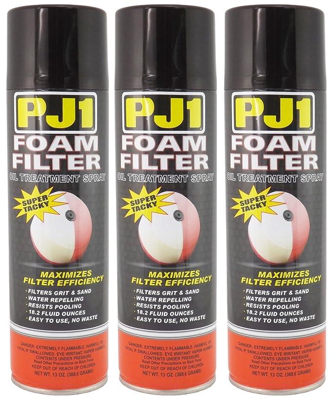 Amazon.com: PJ1 aceite para filtro de aire en espuma ...