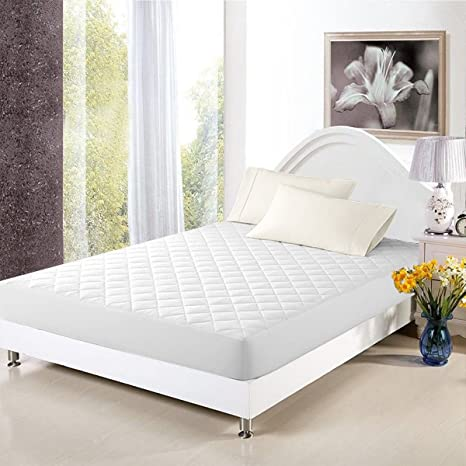 Mattress Cover Bed Topper  Bug Dust Mite Waterproof Pad Protector Quilted 5 Size