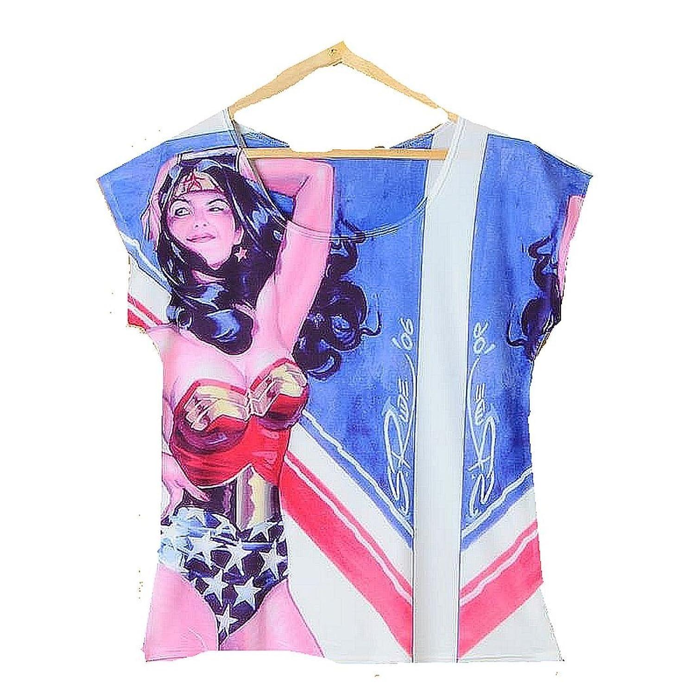 "DC Comics ""Wonder Women"" T- Shirt / Top / Tee"