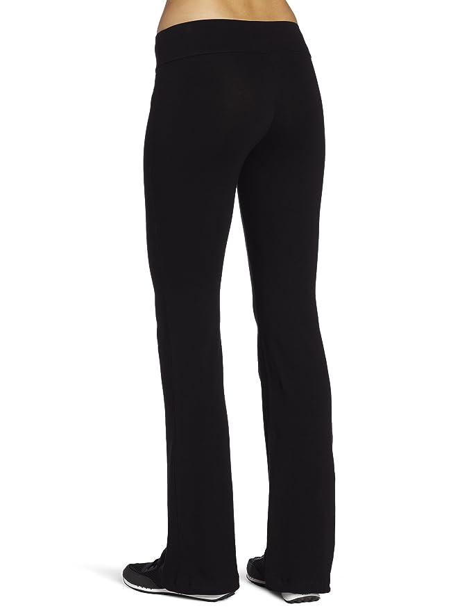 Spalding - Pantalón de Yoga para Mujer - Negro - X-Large ...