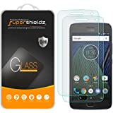 "[2-Pack] Supershieldz for Motorola ""Moto G5 Plus"" / Moto G Plus (5th Generation) Tempered Glass Screen Protector, Anti-Scratch, Anti-Fingerprint, Bubble Free, Lifetime Replacement Warranty"