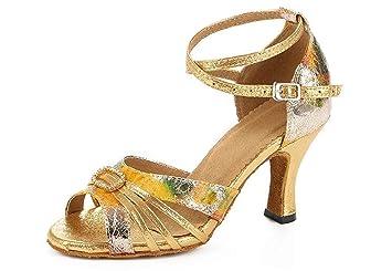 mejor amado b16df cf523 Zapatos de baile latino para mujer Salsa Performance ...