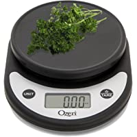 Ozeri ZK14-AB Pronto Digital Multifunction Kitchen & Food Scale (Black)